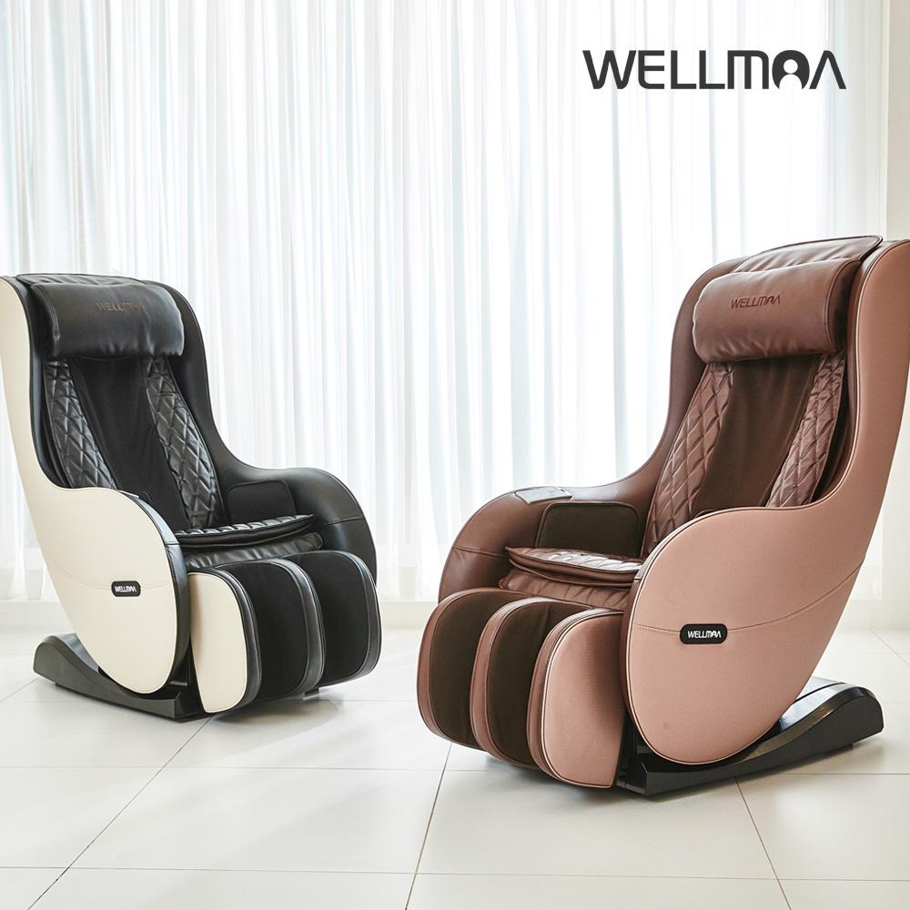 웰모아 트윈 HCW-5000 미니안마의자, 프림로즈 핑크