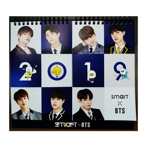 방탄소년단(BTS) - SMART 2019 CALENDAR