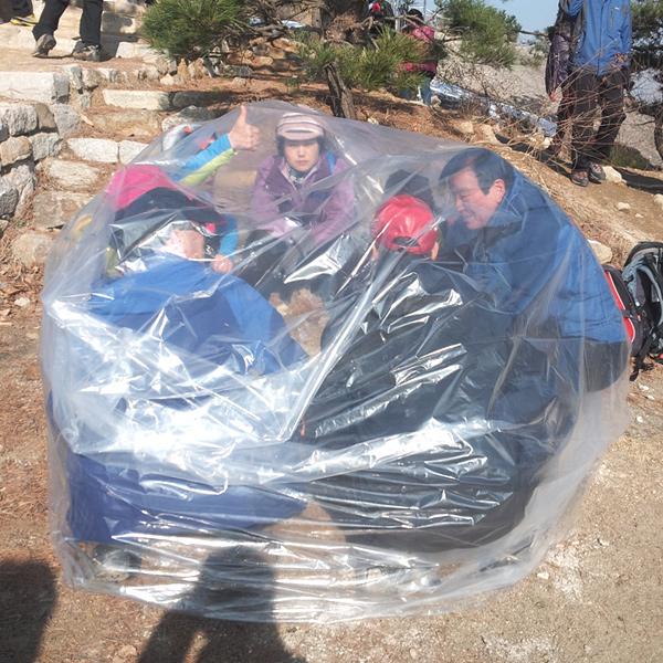 파파앤몰 비닐쉘터 등산비닐 백패킹 바람막이 천막 쉘터 텐트겨울등산 비닐막쉘터, 제품01-일반형(1-2인용)