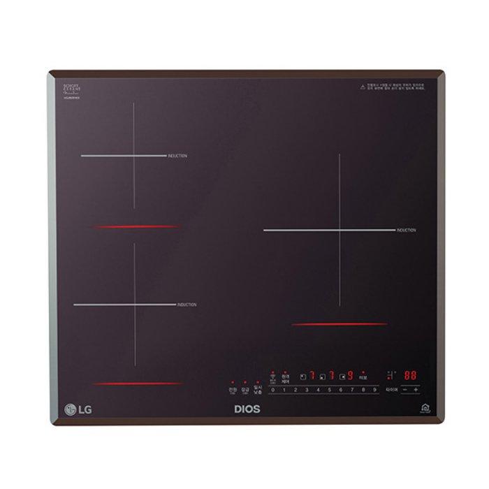LG전자 (빌트인) 3구 인덕션 전기레인지 BEI3MT.AKOR, 단일상품