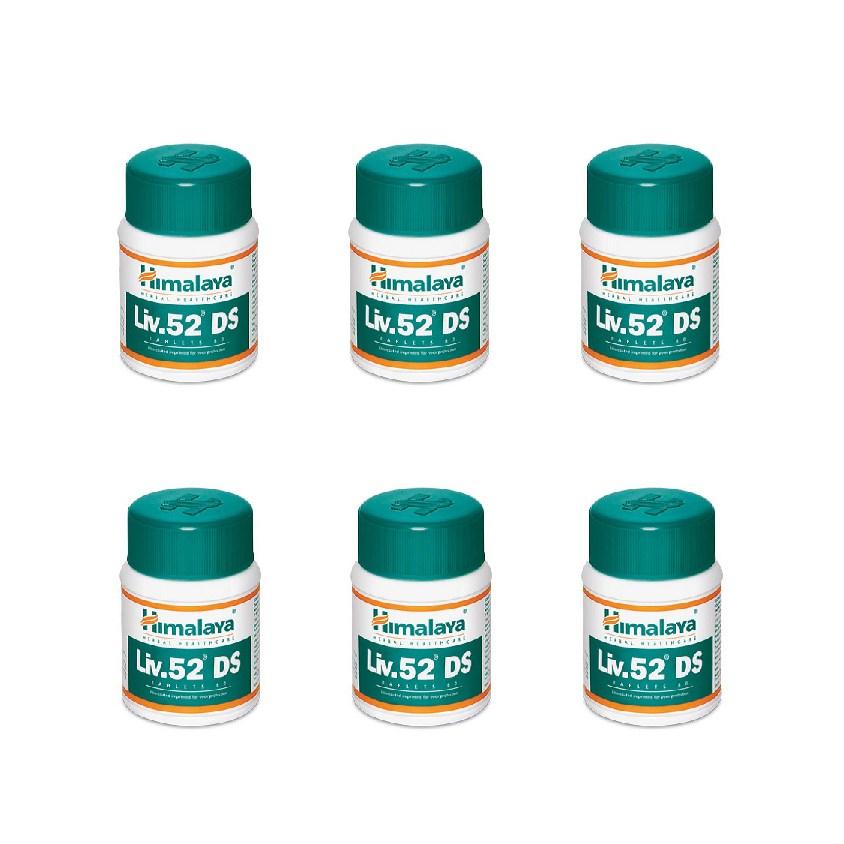 히말라야 간약 리브52 DS (LIV 52 DS) 60정 x6+모닝컴스10캡슐  80g  1개히말라야간약 리브52DS (202