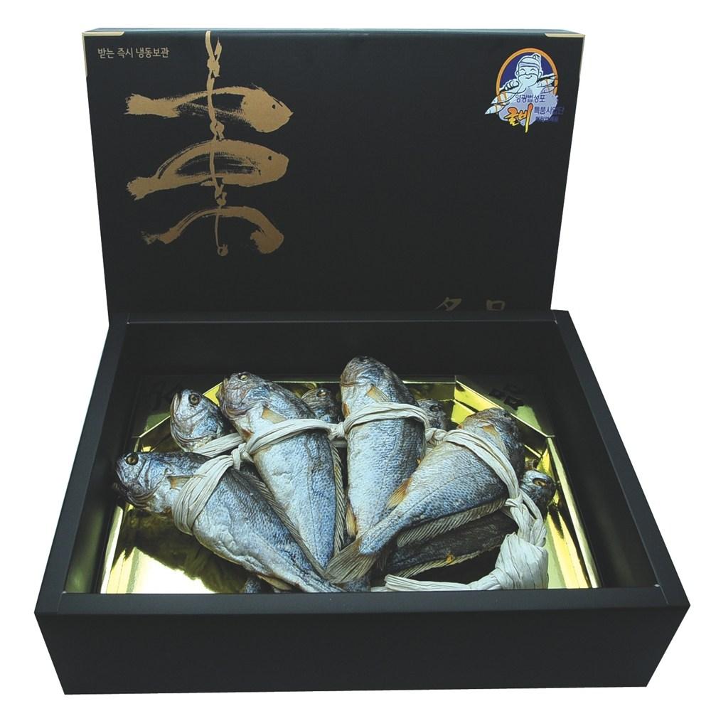 문무굴비 [문무굴비]울금보리굴비 황제선물세트 특대 34cm내외 8미, 8마리