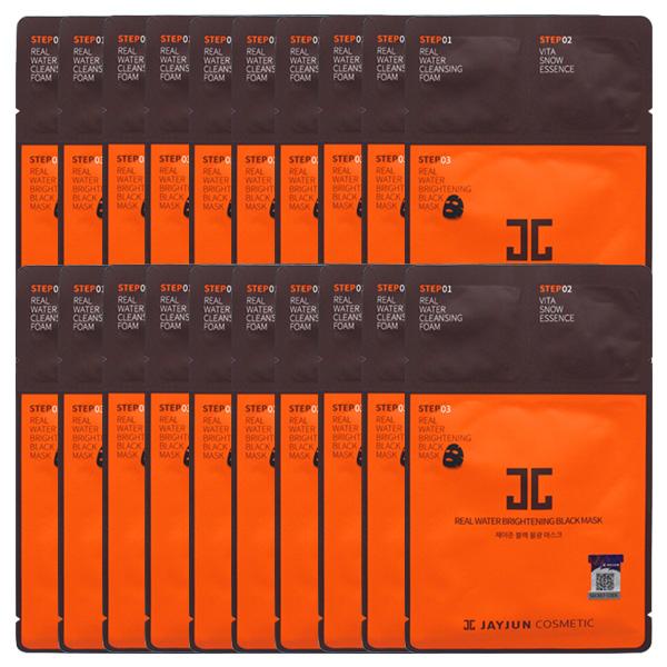 제이준 블랙 물광 마스크팩 20매/수분공급/생기부여, 단품