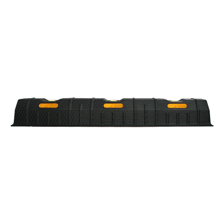 아이젠테크 카스토퍼 하나로주차블럭 차량용 PE과속방지턱 4개입(볼트 피셔포함)