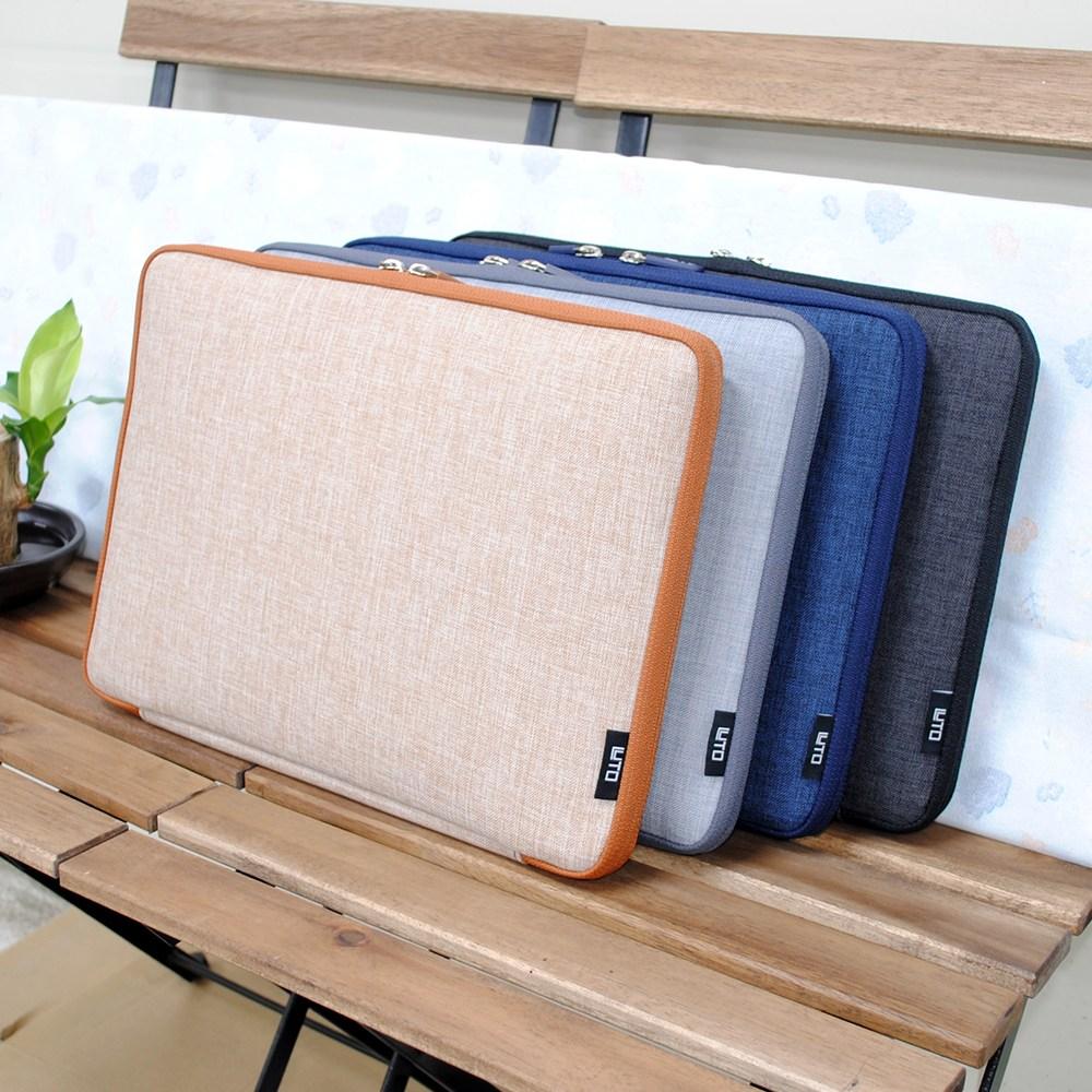 루토 모노그 오픈 LG그램 17인치 노트북파우치 가방 방수 케이스, LG그램 17인치-블랙