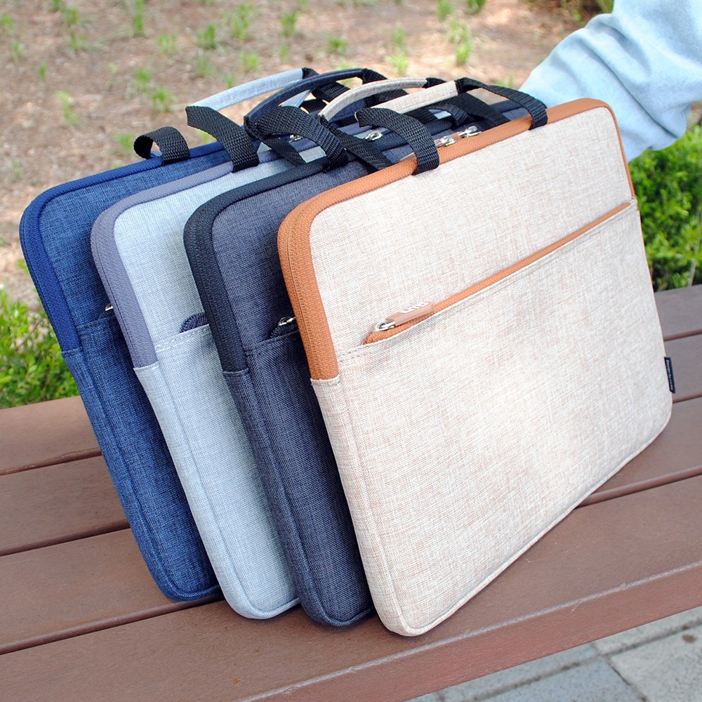 루토 모노그 핸디 LG그램 17인치 노트북파우치 가방 방수 케이스, LG그램 17인치-브라운
