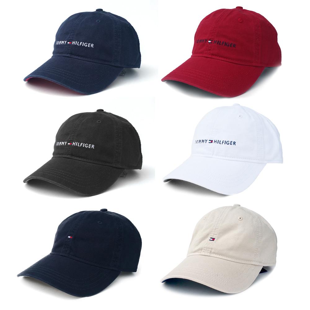TOMMY HILFIGER [해외직배송] 타미힐피거 로고 캡 모자
