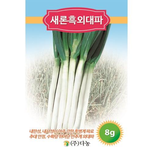 갑조네 잎줄기채소 씨앗 모음, 대파(씨앗), 1개_양대파씨앗