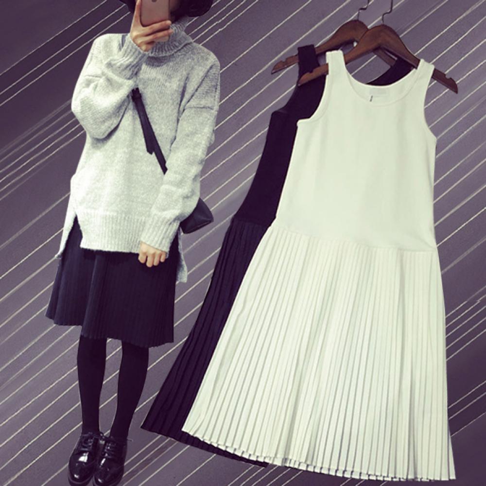 kirahosi 원피스 봄 가을 겨울 여성 조끼 레이스 치마 드레스 스커트 +스마트스트랩 증정 19j-81 BChmrwo