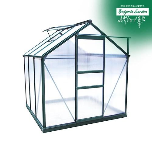 벤자민가든 조립식온실하우스 BASIC S 6X6 1.5평형, 온실단품+무료배송