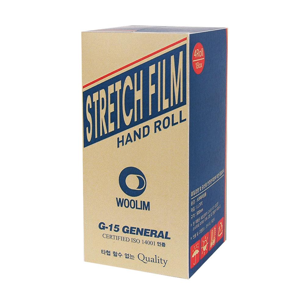 우림 스트레치필름 공업용 포장랩 G-15, 1박스