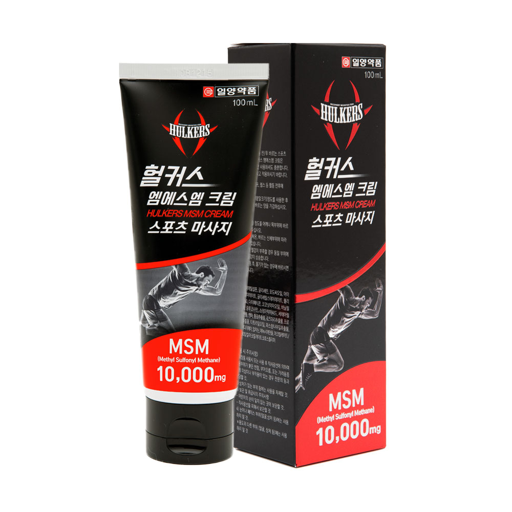 일양약품 헐커스MSM크림 스포츠마사지, 1개, 100ml