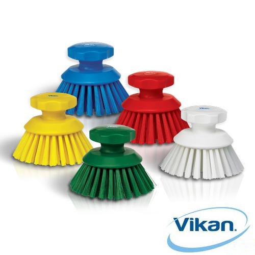 바이칸 원형솔 드라이세척솔 청소용품, 빨강