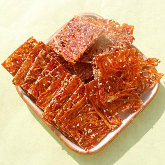 건푸드 국내산 서해안 양념뱅어포, 1봉, 110g