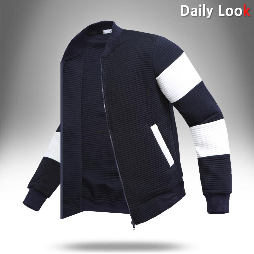 루찌 봄 가을 점퍼 R2-소매절개 엠보 블루종 자켓 료배송