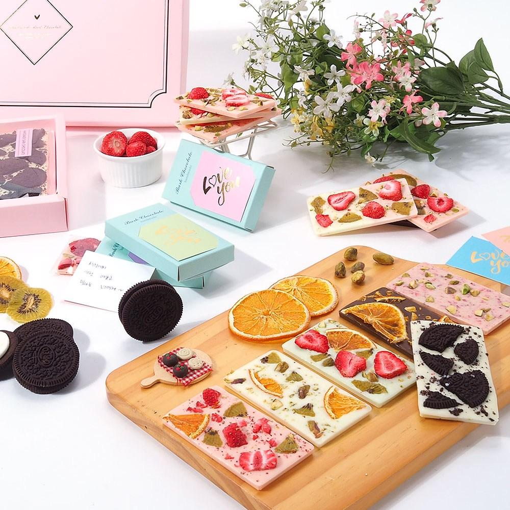 붐스토리 핑크럽 바크초콜릿 만들기세트, 초콜릿만들기세트, 1개