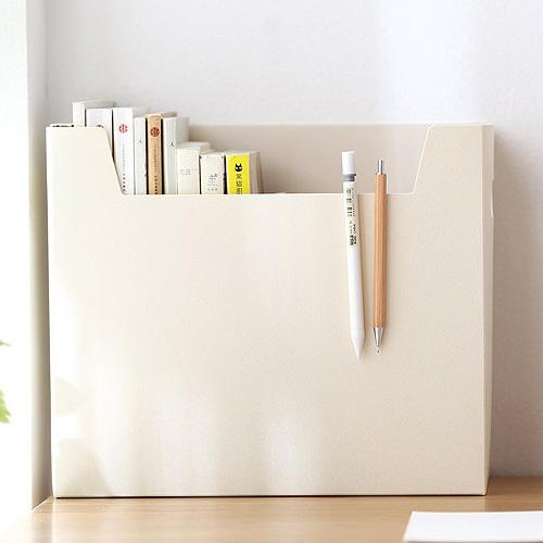 모든집 데스크 책상 정리 수납 다용도 정리함 3color (1+1) 데스크오거나이저, 1+1 데스크 정리함-베이지