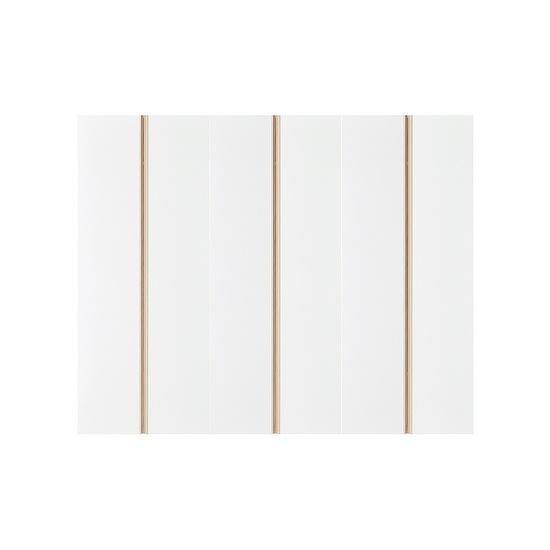한샘 샘베딩 스테디 긴옷장 세트 200cm(높이194cm) 행거형 12종, 색상:L형: 올리브그린 도어+메이플몸통(L)