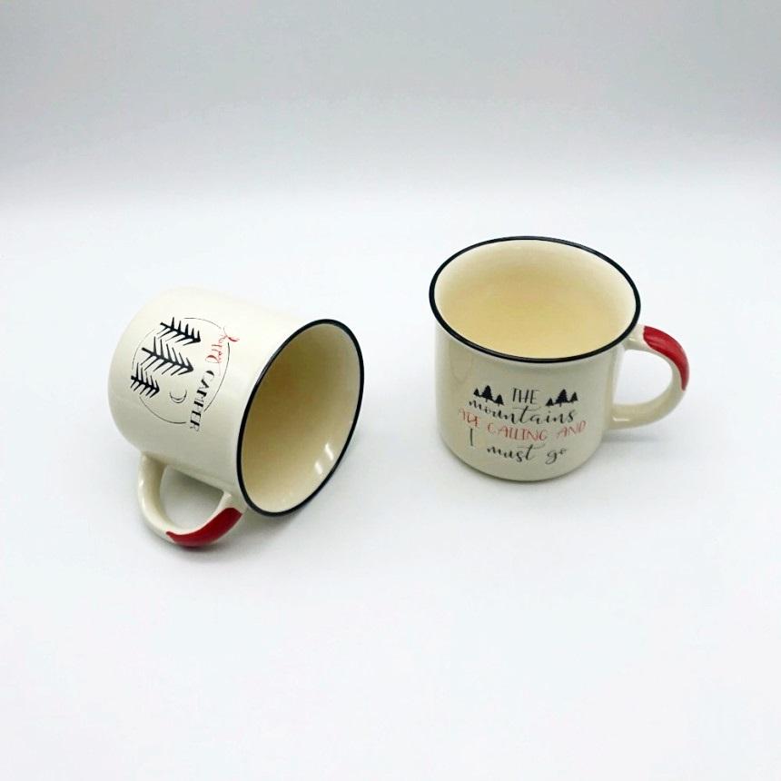 엘룸 -캠퍼 커피라이프 머그세트 350ml 2P SET, 2.커피라이프 머그 2P