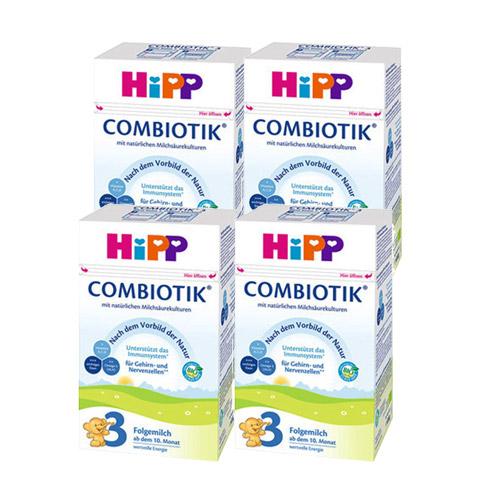 힙 힙분유 HIPP 바이오 콤비오틱 3 단계 4통 분유