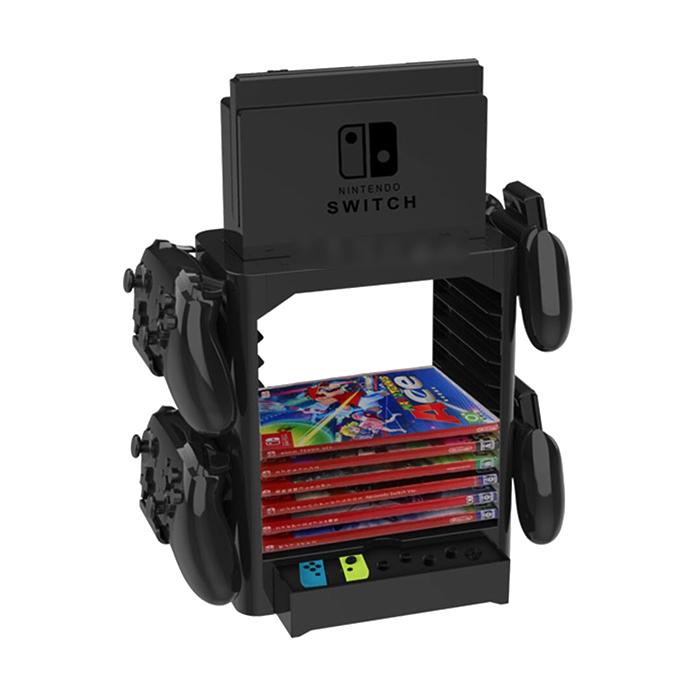 닌텐도스위치 PS4 씨디 듀얼쇼크 게임카드케이스 프로컨트롤러 거치수납 거치대 스탠드, 1개