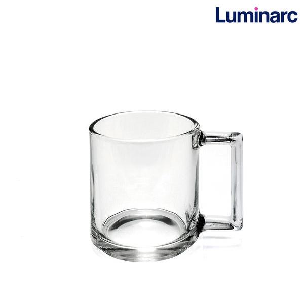 루미낙 피트니스 강화유리 머그컵, 220ml