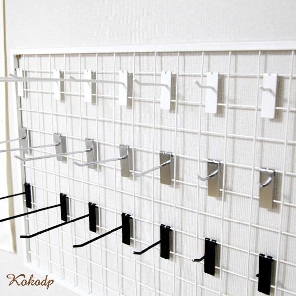 코코디피 5개묶음 메쉬망 매쉬망 휀스망 후크 고리 악세사리 걸이 벽걸이 철망 진열, 크롬 + 11cm (5개묶음), 1개 (POP 180593992)