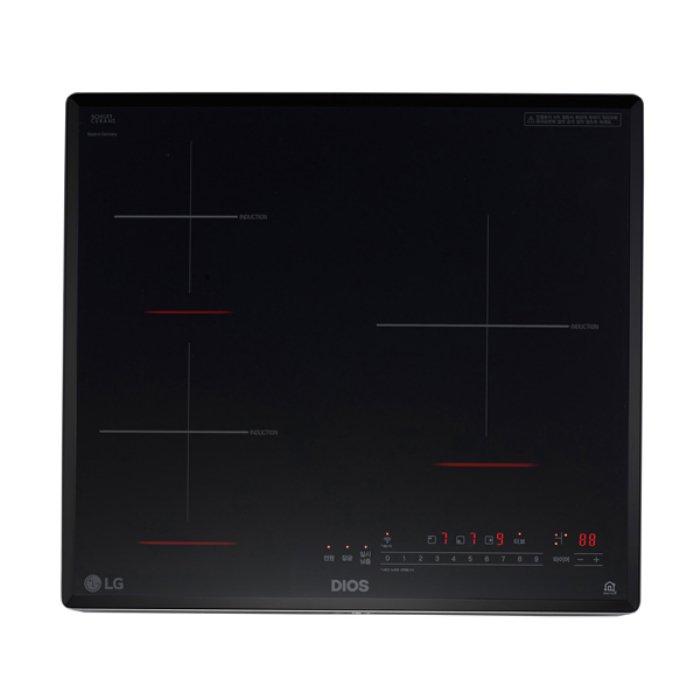 LG전자 (빌트인) 3구 인덕션 전기레인지 BEI3GTP, 단일상품