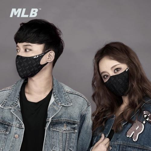 바비썬 (세일특가당일배송)MLB정품 공항패션 마스크 블랙방한마스크