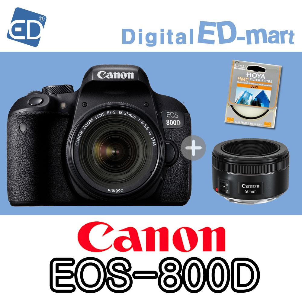 캐논 800D 18-55mm 64G 패키지, 04 캐논EOS-800D/18-55 IS STM.50mm렌즈2종64G패키지
