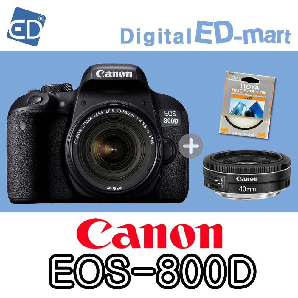캐논 800D 18-55mm 64G 패키지, 03 캐논 EOS-800D18-55 IS STM.40mm렌즈2종64G패키지