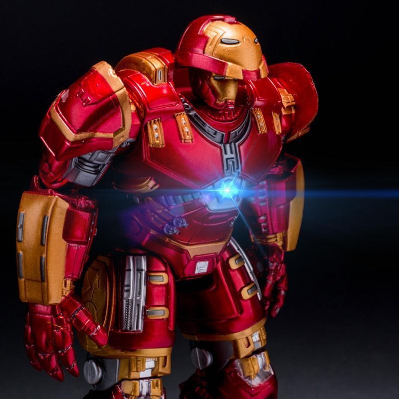마블 어벤져스 헐크 버스터 LED 장난감 선물 피규어 (16CM)