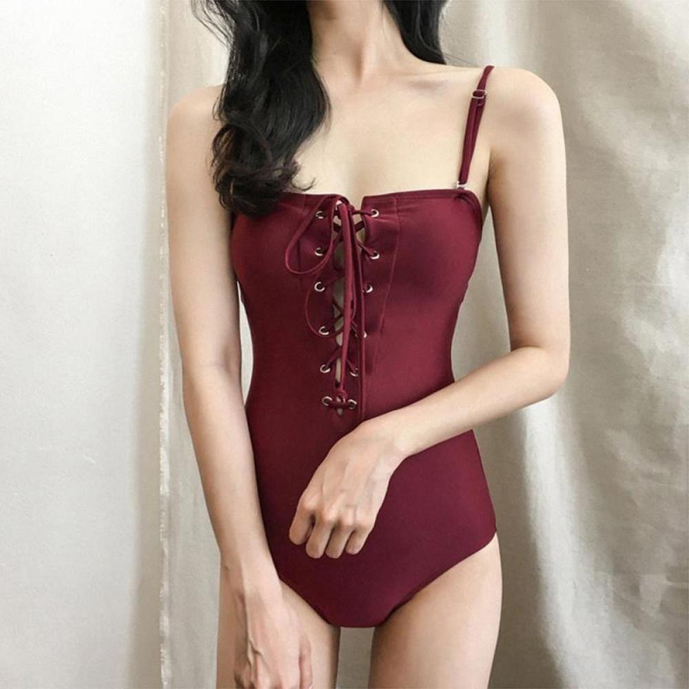 YZ 여성 수영복 비키니 원피스 세트 8 V3q8ho