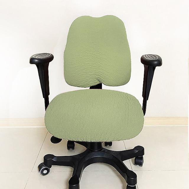 데코핸즈 초간편 리폼 책상 의자 커버, 라이트그린