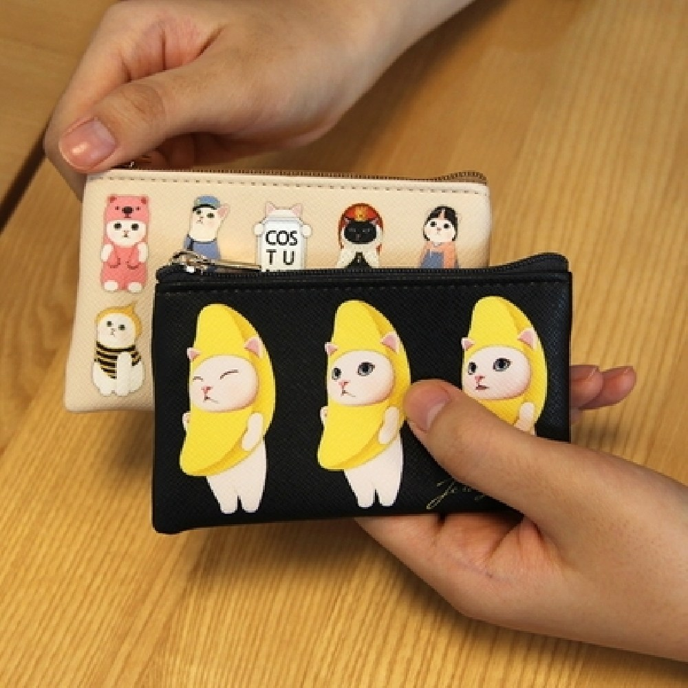 [AHJ_4207460] (디자인 : Bluerose) choo choo slim card case 지갑 파우치 슬림카드지갑 월렛 카드집, Bluerose