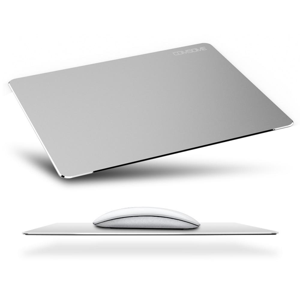 COMSOME CS-AL300 알루미늄 마우스패드 게이밍패드, 단일제품