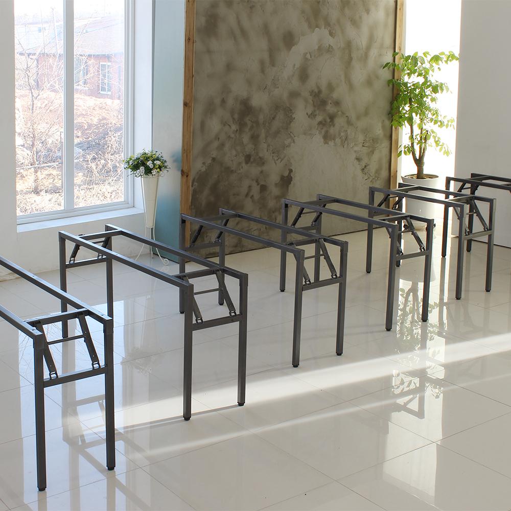 파미가구 스트롱 테이블다리 접이식다리 식탁 책상 테이블 가구다리, W750xD350
