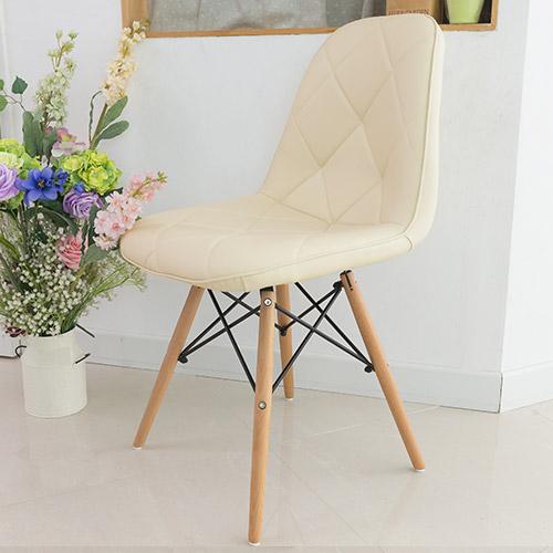 일루일루 모아 에펠 엠보싱 체어 인테리어 의자, 아이보리