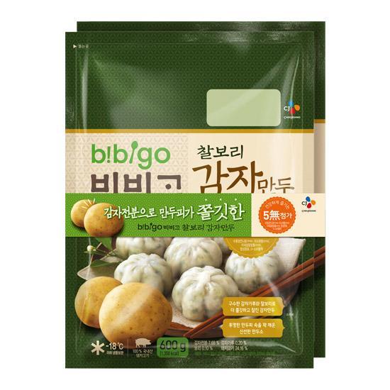 [무료배송](CJ)비비고-만두8종 골라담기, 20_찰보리감자만두600gx2개
