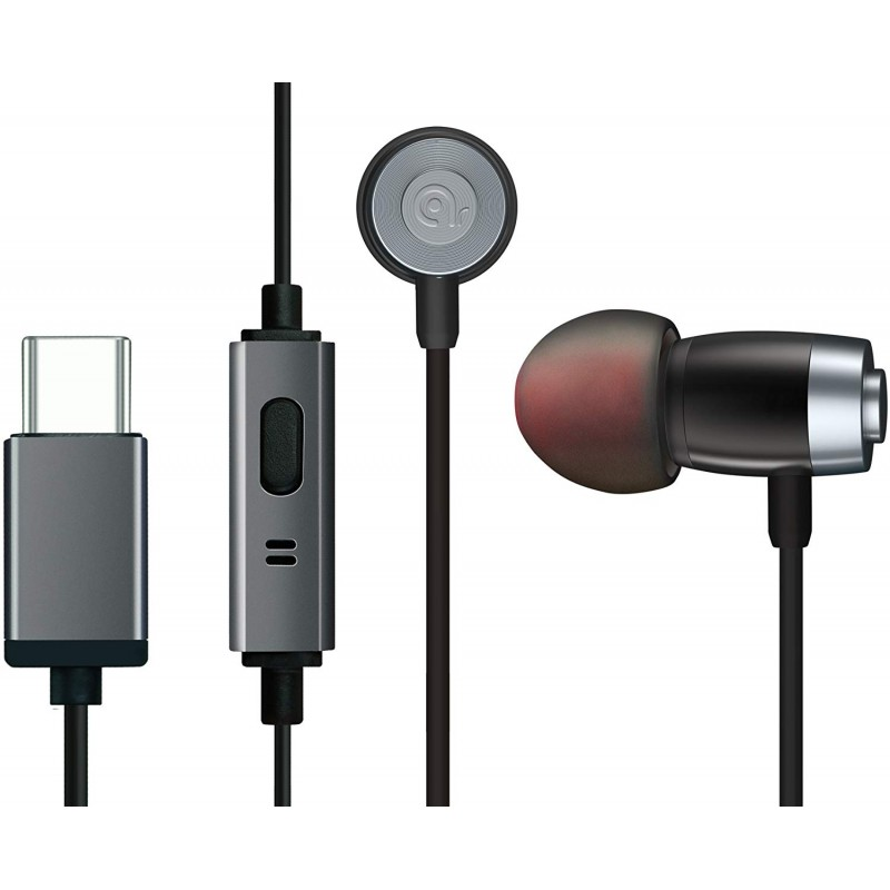 Archgon AE-01CK 웨이브 USB 타입 C 이어폰 - Google Pixel 3 2 HTC 10 U11 삼성 S8 Sony XZ Premiu