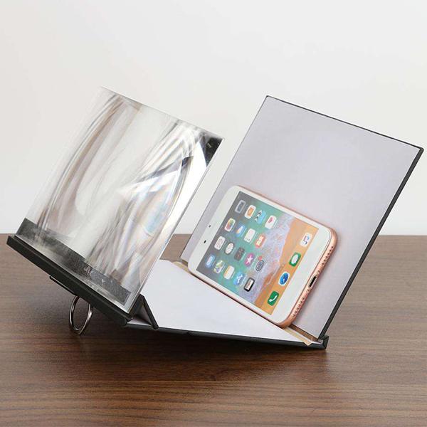 희아랑 5D다용도스마트폰확대경 휴대폰거치대 스마트폰거치대, 1개