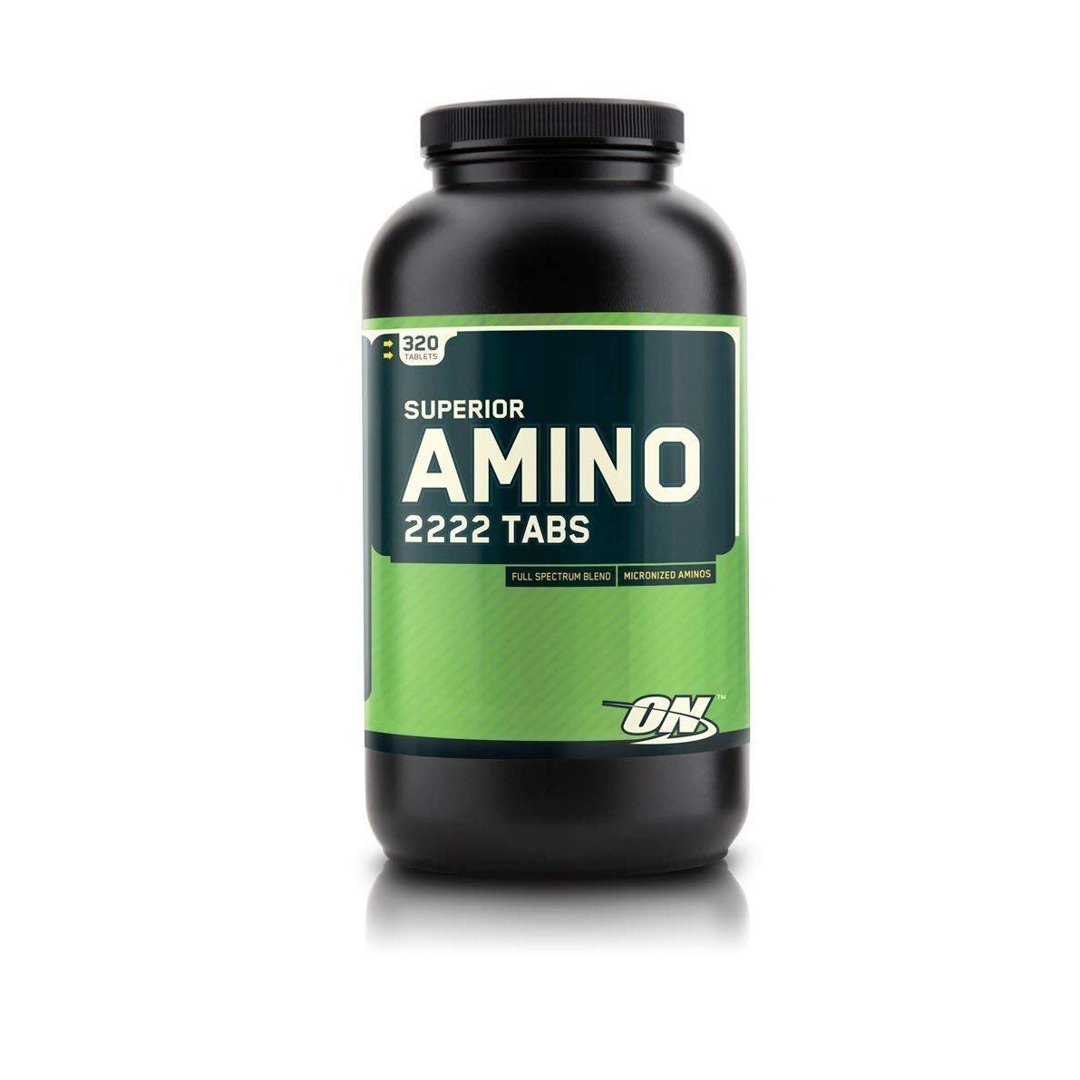 Optimum Nutrition 슈페리얼 아미노 2222 탭스 타블렛, 320개입, 1개
