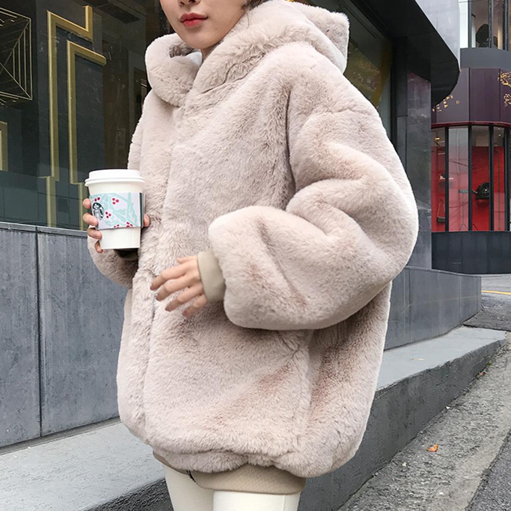 봄 가을 여성 코트 뽀글이 따뜻한 양털 자켓 빅사이즈 59 ATpgcjb
