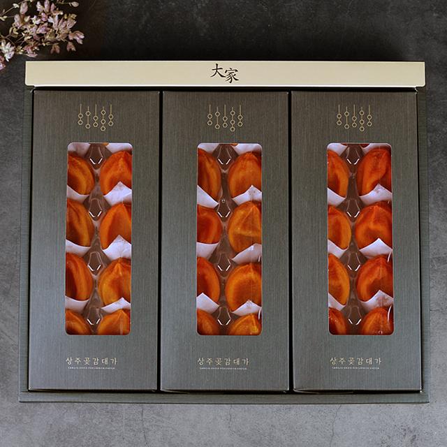 프리미엄 상주곶감 건시 반건시 선물세트, 1box, 프리미엄 상주곶감 건시 1.5kg 30과