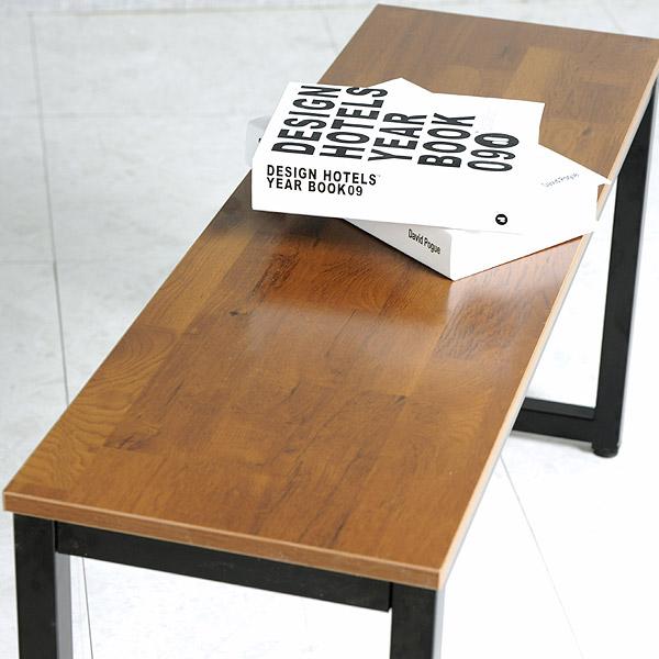 주식회사 와이디 멀바우 카페 벤치 의자, 멀바우벤치의자_블랙(YWC2086-BK)