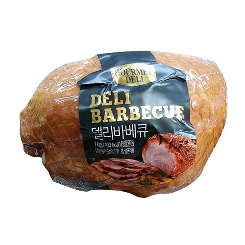 델리카센 델리바베큐 햄 1kg  1개도매빅뱅 (롯데햄 선물세트)델리카 3호 수제햄 선물도매/선물세트도매/사은품/명절  단일 수