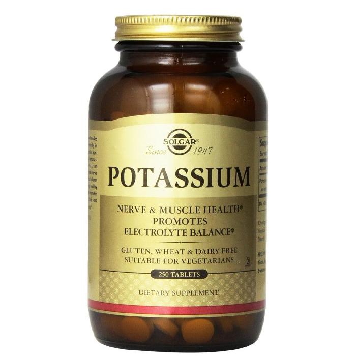 솔가 칼륨 250정 Solgar Potassium 22614