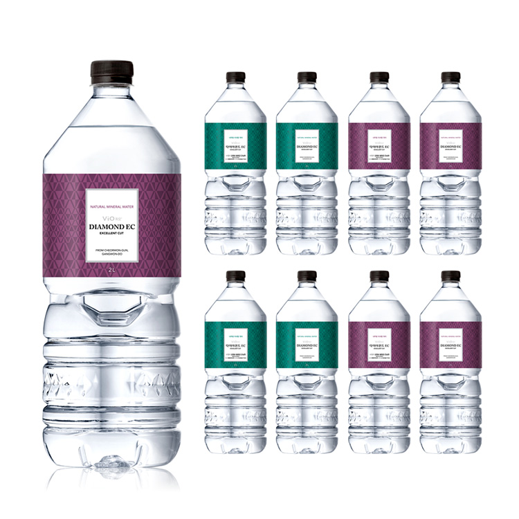코카콜라음료 [본사직영] 휘오 다이아몬드EC 2.0L (9개), 9개, 2L