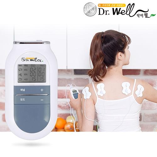 닥터웰 2채널 4패드 휴대용 저주파 마사지기 DR-460, 단품
