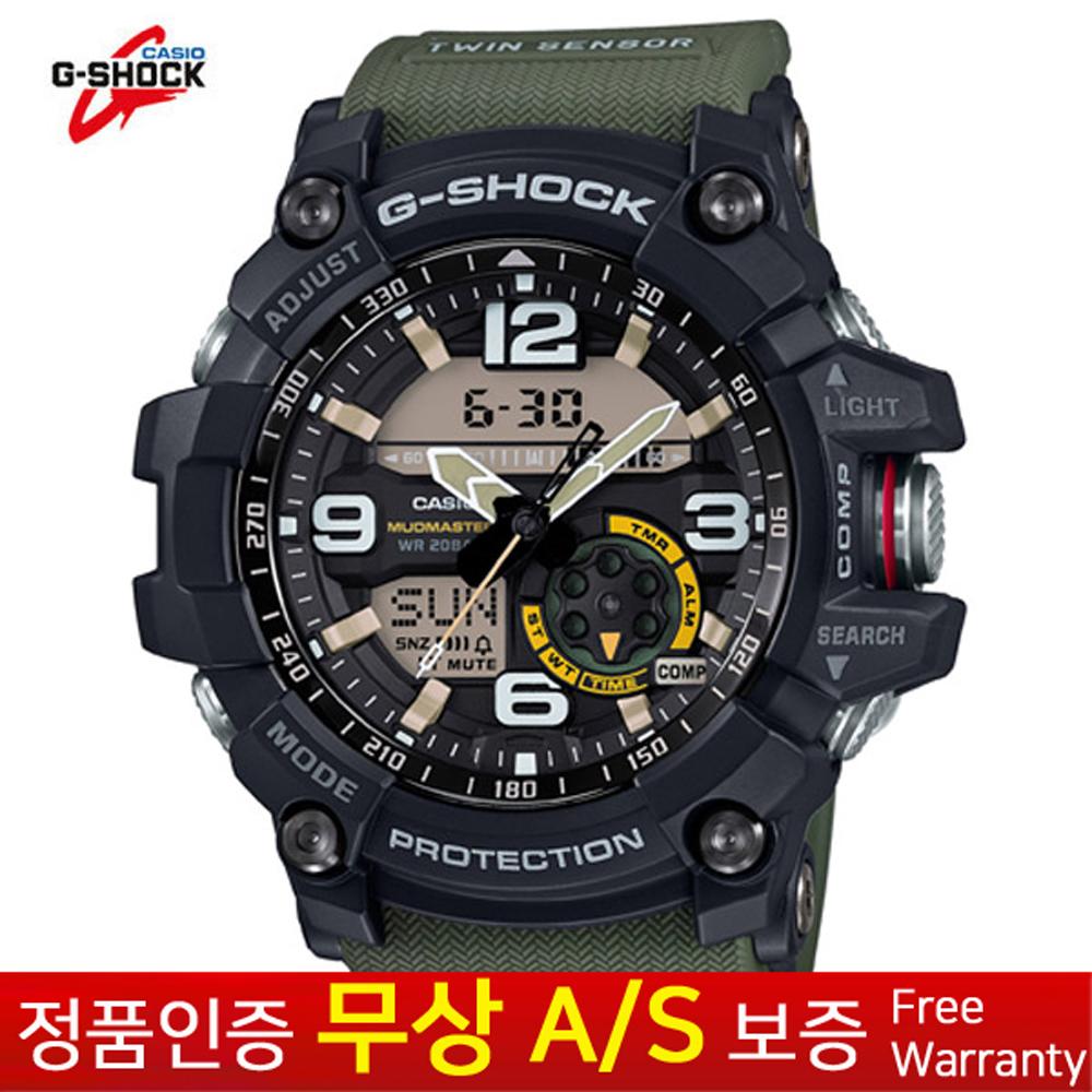 [G-Shock 지샥] [무상AS 정품] 남성남자 스포츠아웃도어 전자손목시계 GG-1000-1A3D